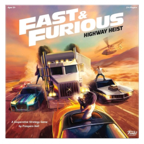Fast And Furious - Highway Heist Board Game