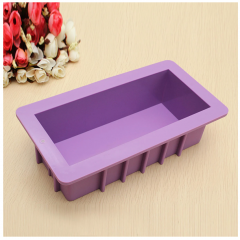 10'' Silicone Bread Loaf Cake Mould Non Stick Bakeware Baking Pan Rectangle Mould